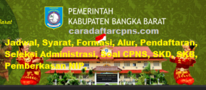 CPNS 2019 Kabupaten Bangka Barat