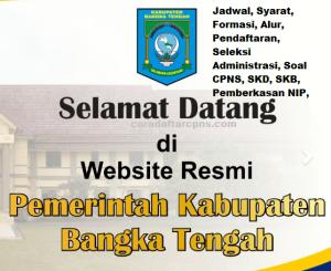 CPNS 2019 Kabupaten Bangka Tengah