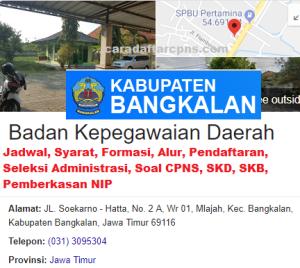 Pengumuman Hasil SKB CPNS Kabupaten Bangkalan Formasi 2019
