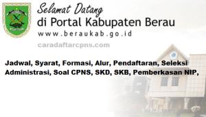 Pengumuman Hasil SKB CPNS Kabupaten Berau Formasi 2019