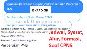 CPNS 2019 Kab Gunungkidul