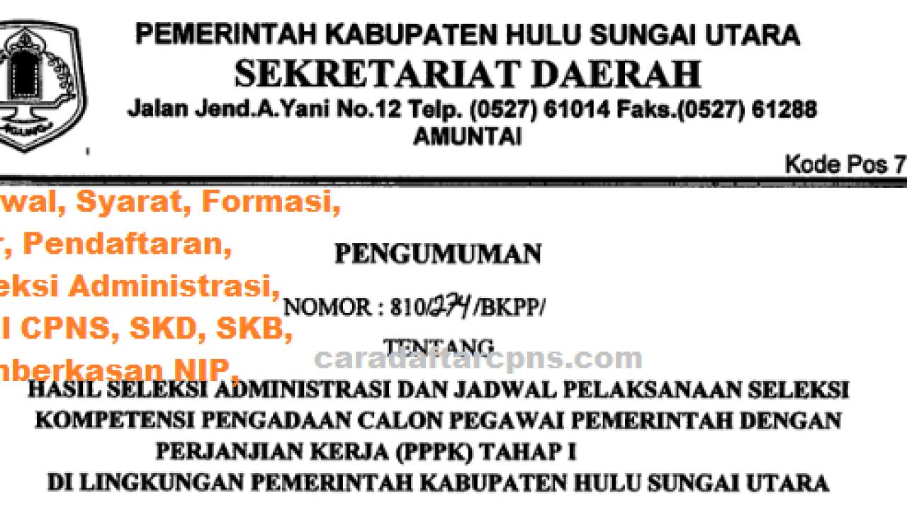 Cpns 2019 Kab Hulu Sungai Utara Kisi Kisi Soal Tes Skb