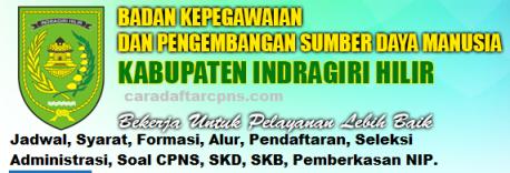 Pengumuman CPNS Kabupaten Indragiri 2021 Lulusan SMA SMK D3 S1 S2