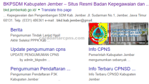 Jadwal Pendaftaran CPNS Kabupaten Jember 2021 Lulusan SMA SMK D3 S1 S2