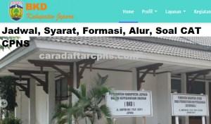 Jadwal SKB CPNS Kabupaten Jepara 2019 2020