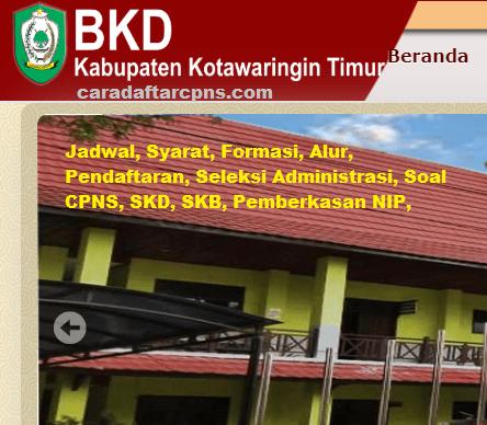 Pengumuman CPNS Kabupaten Kotim 2021 Lulusan SMA SMK D3 S1 S2