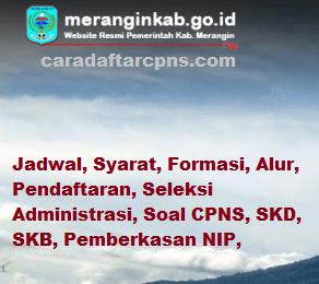 Jadwal SKB CPNS Kabupaten Merangin 2019 2020