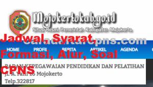 Jadwal Pendaftaran CPNS Kabupaten Mojokerto 2021 Lulusan SMA SMK D3 S1 S2