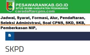 Pengumuman CPNS Kabupaten Pesawaran 2021 Lulusan SMA SMK D3 S1 S2