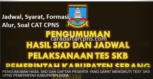 Jadwal Pendaftaran CPNS Kabupaten Serang 2021 Lulusan SMA SMK D3 S1 S2