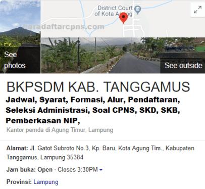 Pengumuman CPNS Kabupaten Tanggamus 2021 Lulusan SMA SMK D3 S1 S2