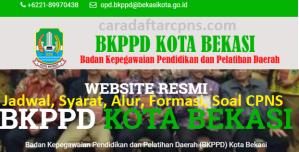 Pengumuman Hasil SKB CPNS Pemkot Bekasi Formasi 2019