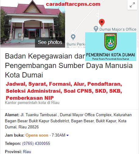 Jadwal Dan Lokasi Tes Skd Cpns Kota Dumai 2019 2020 Soal Skd Skb Pdf Terbaru