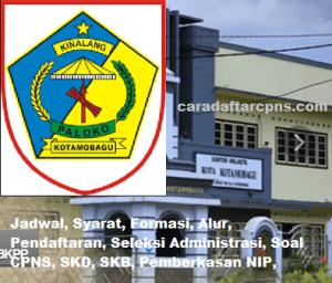 Pengumuman Hasil SKB CPNS Kota KotaMobagu Formasi 2019