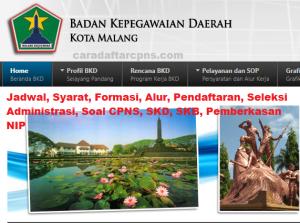 Pengumuman Hasil SKB CPNS Pemkot Malang Formasi 2019