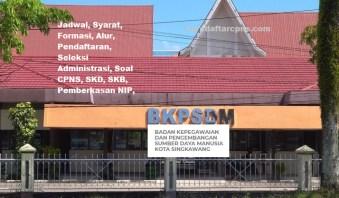 Pengumuman Hasil SKD CPNS PEMKOT SINGKAWANG2021
