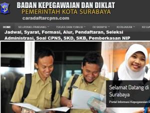 Jadwal Pendaftaran CPNS Pemkot Surabaya 2021 Lulusan SMA SMK D3 S1 S2