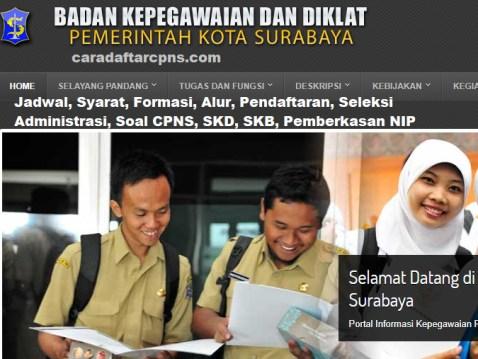 Hasil Seleksi Administrasi CPNS Pemkot Surabaya 2021