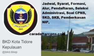 Pengumuman Hasil SKB CPNS Kota Tidore Formasi 2019