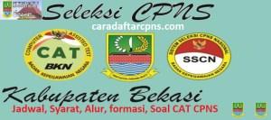 Jadwal Pendaftaran CPNS Kabupaten Bekasi 2021 Lulusan SMA SMK D3 S1 S2