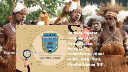 Pengumuman CPNS Kabupaten Asmat 2021 Lulusan SMA SMK D3 S1 S2