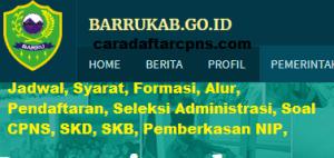Jadwal SKB CPNS Kabupaten Barru 2019 2020