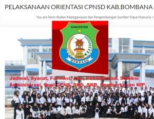 Jadwal SKB CPNS Kabupaten Bombana 2019 2020