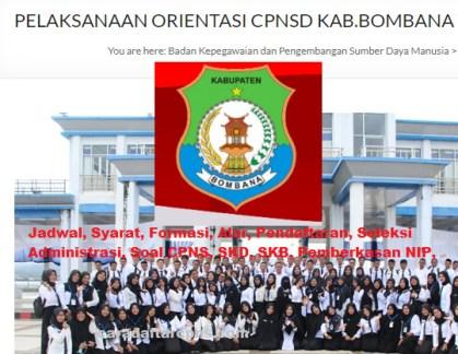 Pengumuman CPNS Kabupaten Bombana 2021 Lulusan SMA SMK D3 S1 S2
