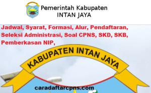 Pengumuman Hasil Akhir CPNS Kabupaten Intan Jaya Formasi 2019