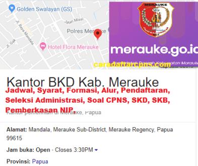 Pengumuman CPNS Kabupaten Merauke 2021 Lulusan SMA SMK D3 S1 S2