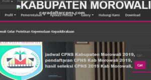 CPNS 2019 Kabupaten Morowali