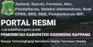 Pengumuman CPNS Kabupaten Sidrap 2021 Lulusan SMA SMK D3 S1 S2