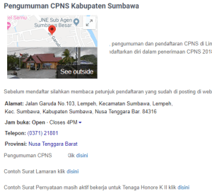 Jadwal SKB CPNS Kabupaten Sumbawa 2019 2020