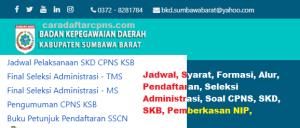 CPNS 2019 Kab Sumbawa