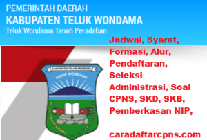 Pengumuman Hasil Akhir CPNS Kabupaten Wondama Formasi 2019