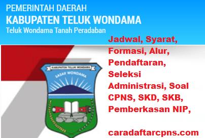 Pengumuman CPNS Kabupaten Wondama 2021 Lulusan SMA SMK D3 S1 S2