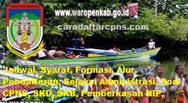 Pengumuman CPNS Kabupaten Waropen 2021 Lulusan SMA SMK D3 S1 S2