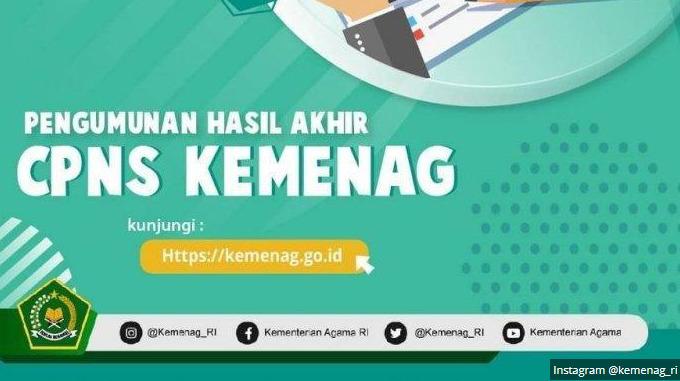 Panduan Jadwal Pendaftaran CPNS 2021 Kemenag Lulusan SMA SMK D3 S1 S2
