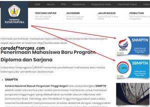 Pengumuman Hasil SBMPTN Untan 2020 2021