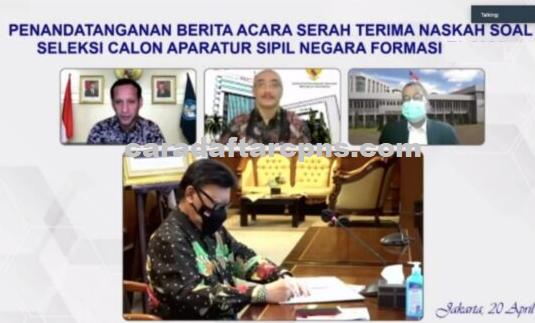 Soal Tes CPNS PPPK 2021 Sudah Diserahkan