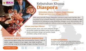 Formasi CPNS 2021 Diaspora