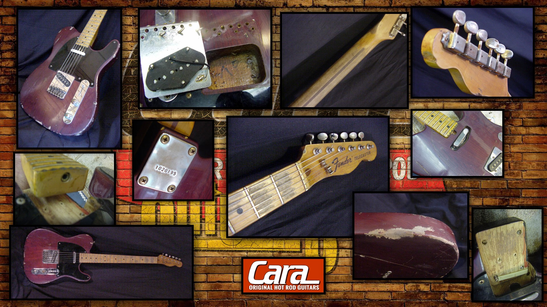 Custom Fender Telecaster Roadworn Relic Replica