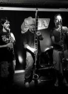 Christer Bothén - contrabass clarinet; Luiz Rocha - bass clarinet; El Pricto - clarinet