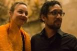 Diego Caicedo and Ilona Schneider