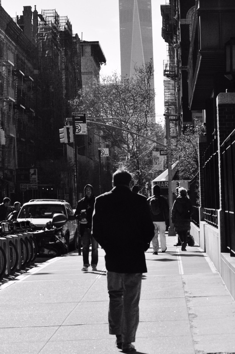 New-York - a single man Walk through Manhattan - ©JCHERIX