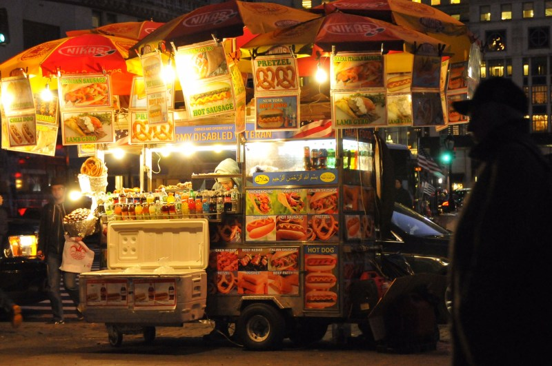 New-York - Food Truck by night - ©JCHERIX