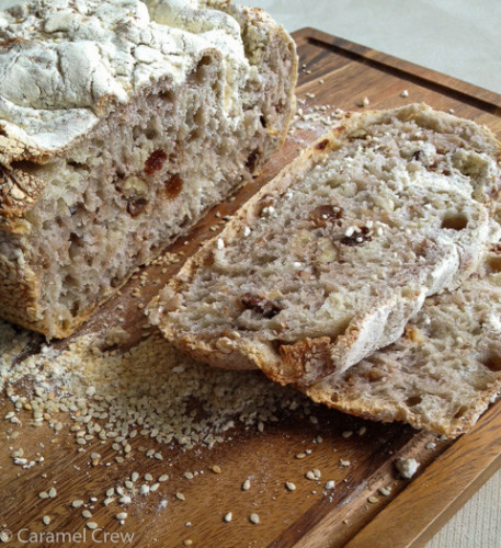 Nutty-no-knead-artisan-bread
