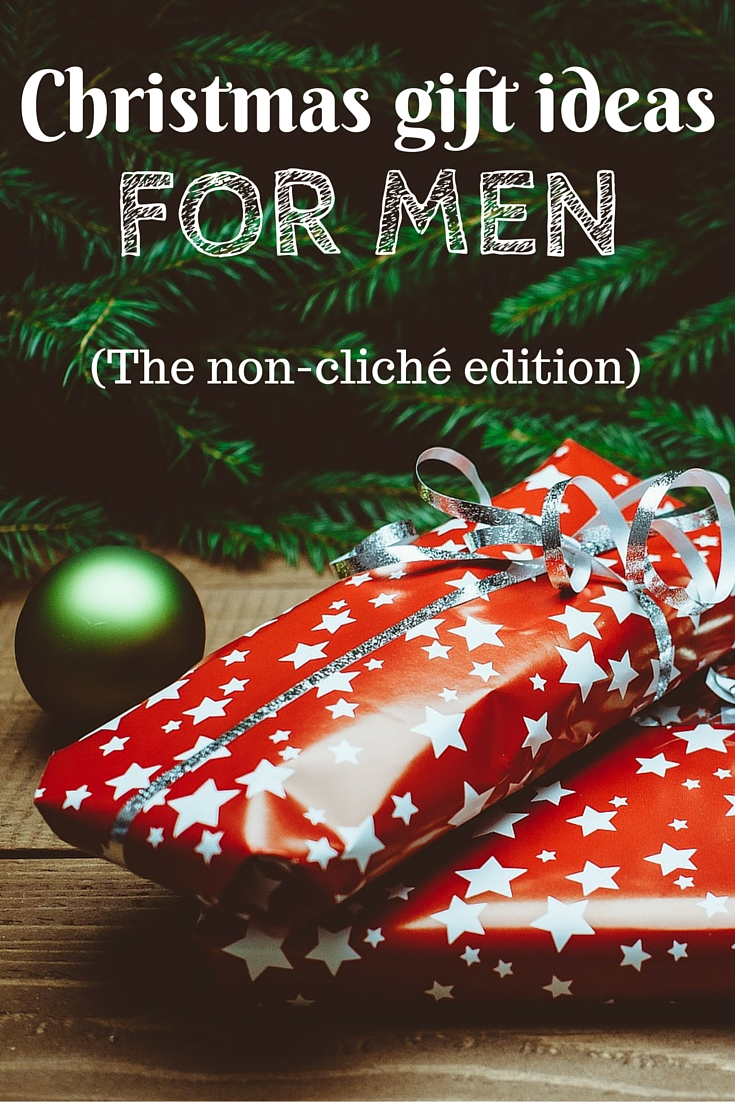 a useful list of practical and fresh christmas gift ideas for men that the special guys