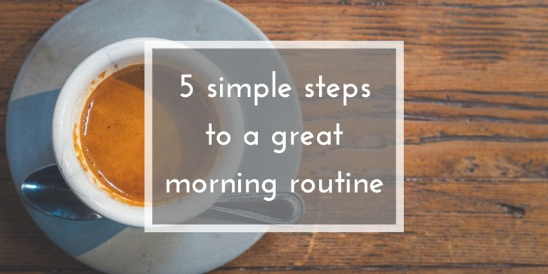 How to make mornings easier: 5 simple ways to reduce morning stress and excessive hurrying when you have to get up early!