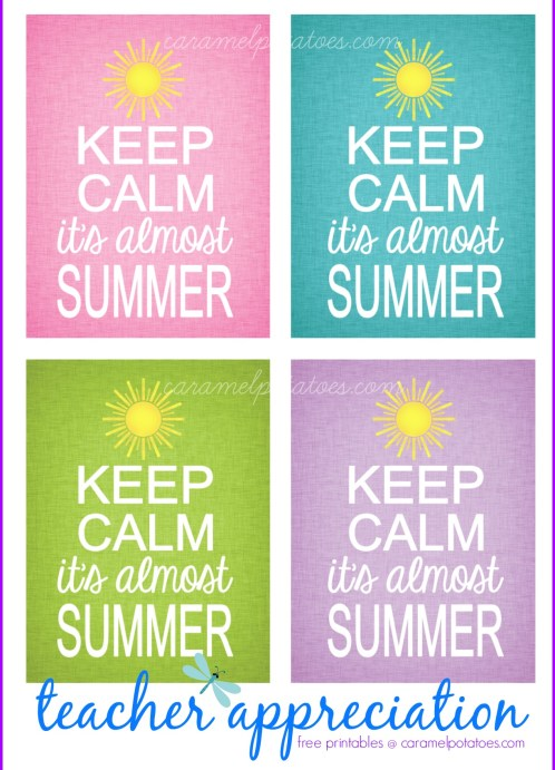 Keep Calm It's Almost Summer